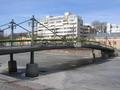 Most s květinami