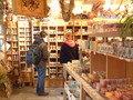 Shop with hand-made soaps etc.