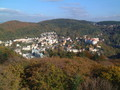 Karlovy Vary from watchtower