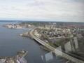 Výhled na Tampere z toweru
