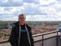 Vilnius shora (a já zepředu)