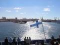 Tallinn z trajektu do Helsinek