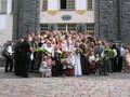 All wedding attendants