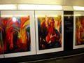 Paintings in underground