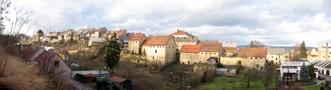 Cityscape of Úštěk