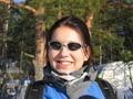 Veselá turistka